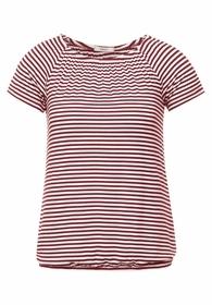 Carmen-Shirt mit Streifen