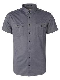 Shirt Short Sleeve Jersey 2 Coloured Pique