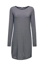 Jersey-Nachthemd mit Streifen