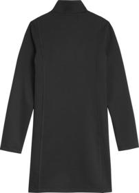 Schmales Kleid aus recyceltem Milano-Jersey