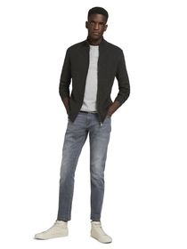 basic structure zip jacket
