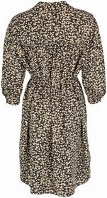 Shirt-Kleid aus Viskose-Twill