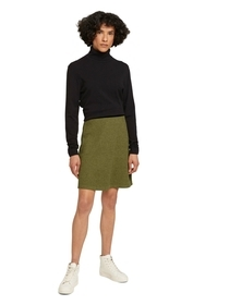 skirt brushed melange