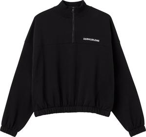 """Sweatshirt """"Vertical Institutional Half Zip"""""""