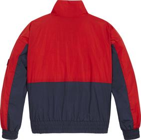 Color Block-Jacke mit Logo