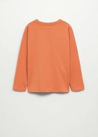 Langärmliges Print-T-Shirt