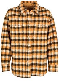 Kariertes Overshirt aus hochwertigem Wolle-Mix