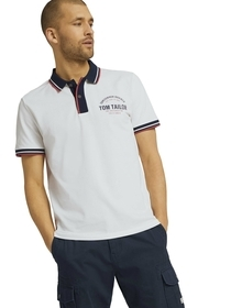 decorated polo shirt