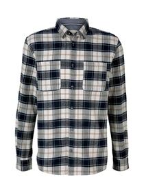 checked comfort shirt