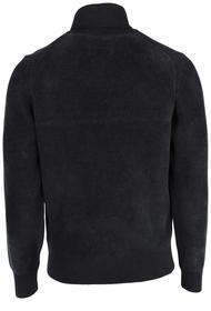 Rollkragen-Pullover aus samtigem Chenille-Garn