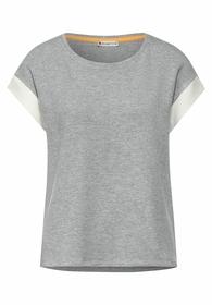 T-Shirt mit Kick Streifen