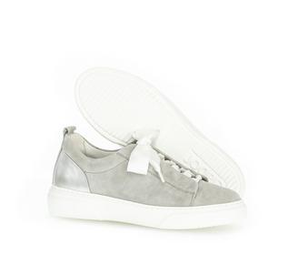 Sneaker low Glattleder weiß
