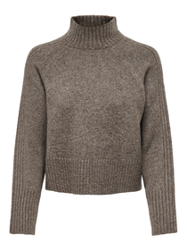ONLMACADAMIA L/S HIGHECK PULLOVER BF KNT