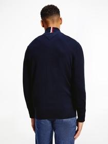 Pima Cotton Cashmere Zip Through