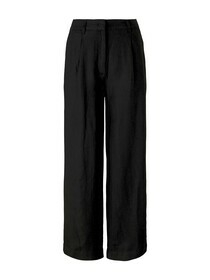 linen straight leg pants