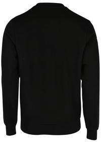 Sweatshirt aus Fleece mit Colourblock-Schriftzug