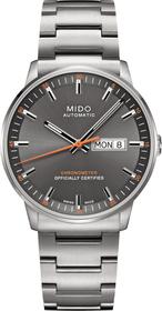 Commander II Analog Automatik Uhr mit Edelstahl Armband