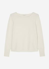 Rundhals-Pullover aus Responsible Wool-Qualität