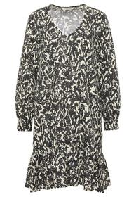 Popeline-Kleid aus Tencel™ Lyocell