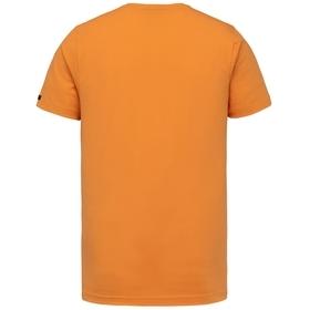 Short sleeve r-neck cotton elastan