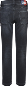 Spencer Brushed Black Jeans