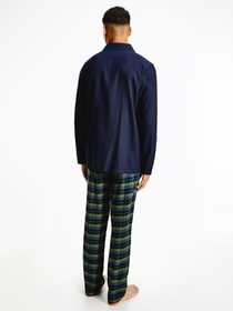 Ls Pant Flannel Shirt Set