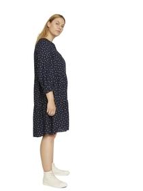 Halbarm-Kleid