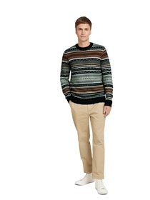 all over jacquard sweater