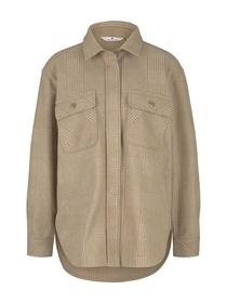 blazer overshirt checked
