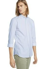 allover printed stretch shirt
