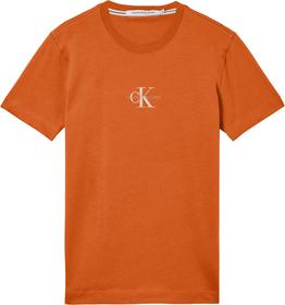 Schmales Monogramm-T-Shirt aus Bio-Baumwolle