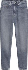 Baggy Jeans mit hohem Bund
